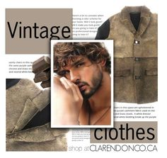 """CLARENDONCO.CA #16"" by sandralalala ❤ liked on Polyvore featuring Massimo Rebecchi and vintage"