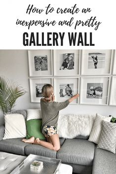How to create a grid-style gallery wall of family photos! – This Mama Loves Li… How to create a grid-style gallery wall of family photos! – This Mama Loves Life Pin: 735 x 1102 Family Photo Wall, Living Room Decor, Ikea Gallery Wall, Home Decor, Living Room Wall, Diy Gallery Wall, Family Pictures On Wall, Room Decor, Living Decor