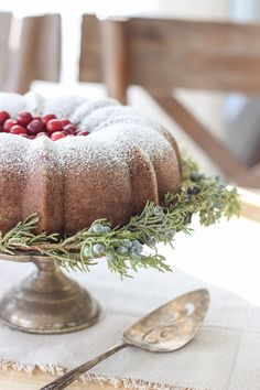 This rich, flavorful Gingerbread Bundt Cake is perfect for the holidays and so simple to make!