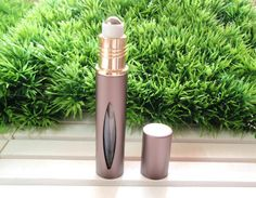 1 x Black Outer-Metal Essential Oil Roller Bottle, tall Black Roller Bottles with Metal Roller Ball, Travel Size Roller Bottle Essential Oil Bottles, Essential Oils, Young Living Oils, Spray Bottle, Travel Size Products, Essentials, Lipstick, Tools, Unique Jewelry