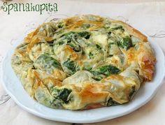 Todo el sabor de Grecia en el pastel salado Spanakopita, de espinacas y queso feta
