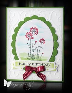 Serene birthday by YoursTruly - Cards and Paper Crafts at Splitcoaststampers