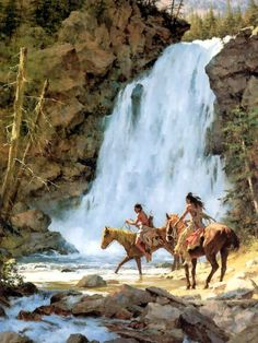 Crossing Below the Falls HOWARD TERPNING