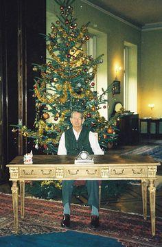Regele Mihai. Sărbătoarea Anului Nou, 2002.