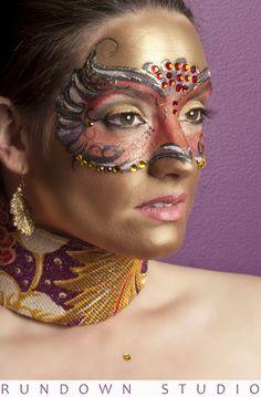 amazing mask face paint