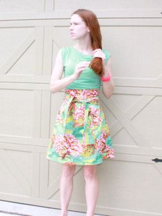 Amy Butler T Shirt Dress for Women in Sea by SweetHomeBoutique, $85.00