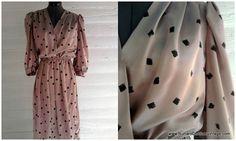 Vintage Dress  1970s 80s CHAMPAGNE GOLD by runaroundsuevintage, $36.00 ...impulse buy.. Should I or not? I love vintage finds!