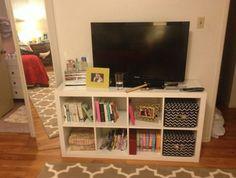 Bookshelf as tv stand?