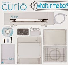 OMG TOTALLY GETTING IT! Introducing the NEW Silhouette Curio- What's in the box?