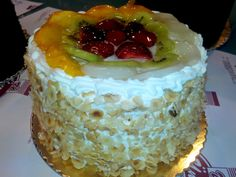 Meyveli Ünver Pasta