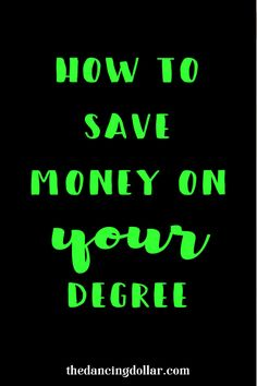 I now know just how easy it is to save money on college.  I'll definitely be following this advice in the future.