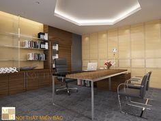 Tư vấn thiết kế văn phòng làm việc cho lãnh đạo