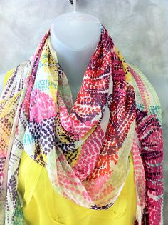 Dotted scarf!