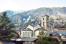 Andorra La Vella, Andorra! So beautiful in the winter.