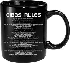 Black Coffee Mug, Coffee Mugs, Ncis Rules, Gibbs Rules, Let's Stay Together, Cuppa Joe, Keep It To Yourself, Coffee Talk, Make A Family