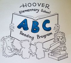 www.projectcornerstone.org Hoover Elementary School designed this ABC logo for their school.  Their mascot is the hedgehog!