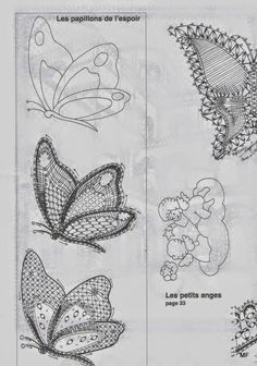 Archivio album Crochet Butterfly, Lacemaking, Lace Heart, Lace Jewelry, Lace Patterns, Bobbin Lace, Book Making, Lace Detail, Arts And Crafts