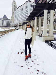 White Out {www.mrsladylike.com} #mrsladylike #winterwhite #fashion #style #columbus #thelimited #womensfashion #chic