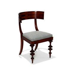 Danish Modern Classicism klismos chairs in birch