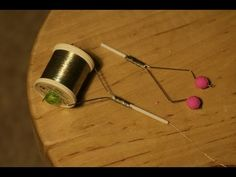 how to make bobbin holders for fly tying from household items. Link to blog http://homeluremaking.blogspot.com/
