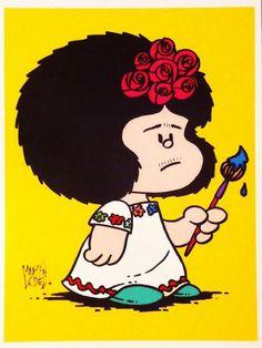 Mafalda Kahlo                                                                                                                                                      Más