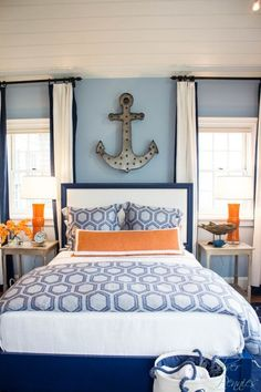 Guest Bedroom HGTV Dream Home - SW Honest Blue