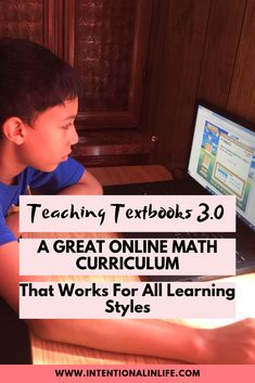 If you are looking for an online math curriculum that your child can do independently and caters to all learning styles Teaching Textbooks is for you! High School Curriculum, Homeschool Curriculum Reviews, Homeschool Math, Ways Of Learning, Learning Styles, Student Dashboard, Teaching Textbooks, Social Emotional Development, Books For Moms