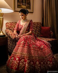 Kriti Sanon's Best Friend's Red Lehenga Is Worth Taking Inspiration From You can find different rumors … Indian Bridal Outfits, Indian Bridal Fashion, Indian Bridal Wear, Indian Designer Outfits, Indian Wedding Dresses, Indian Dresses, Wedding Lehenga Designs, Indian Wedding Lehenga, Bridal Lehenga Choli