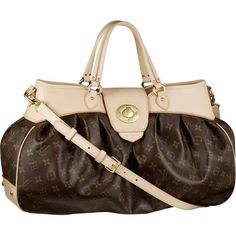 Louis Vuitton M45713 Handbag M45713 Boetie GM for Cheap are suitable... ❤ liked on Polyvore