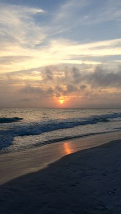 Destin's sunset Aesthetic Backgrounds, Aesthetic Iphone Wallpaper, Aesthetic Wallpapers, Beautiful Beach Pictures, Beautiful Places, Vsco Pictures, Beach Aesthetic, Sunset Wallpaper, Beautiful Sunrise