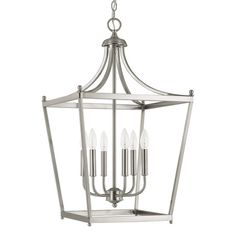 $227 Features:Stanton collectionNumber of lights: 6Style: ModernFixture Type: Foyer pendantSty...