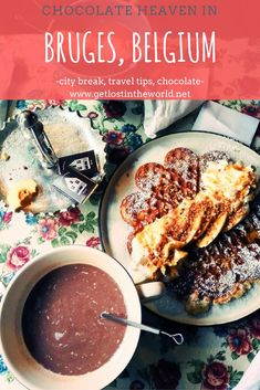 Space Guide One day itinerary for Bruges, Belgium with the place of the best hot chocolate in the world! Packing List For Travel, Europe Travel Tips, Packing Tips, Travel Abroad, Travel Goals, European Travel, Chocolate Heaven, Hot Chocolate, Belgian Chocolate