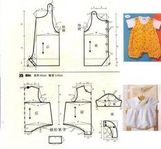 Como hacer un ropon, conjunto y vestidos para bebe04