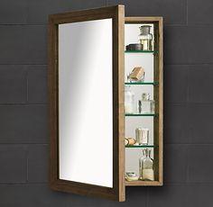 Weathered Oak Medicine Cabinet - Restoration Hardware