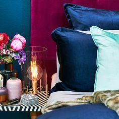 Velvet Crush by #bedbathntable  #velvetdecor #homestyle