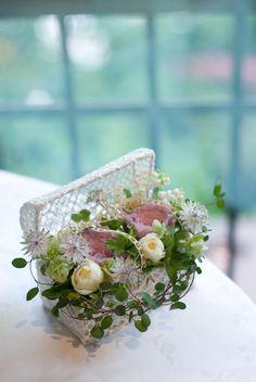 新郎新婦様からのメール アロマ : 一会 ウエディングの花