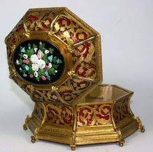 Exquisite Antique French Palais Royal Ormolu Casket from Decor Antiquaire on Ruby Lane