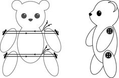 How to Make Jointed Limbs for Amigurumi: How to do thread
