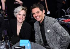 'Westworld' stars Evan Rachel Wood and James Marsden attend the 22nd Annual Critics' Choice Awards.