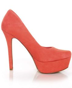 Coral pumps! LuLu's THESE I WOULD LOVE
