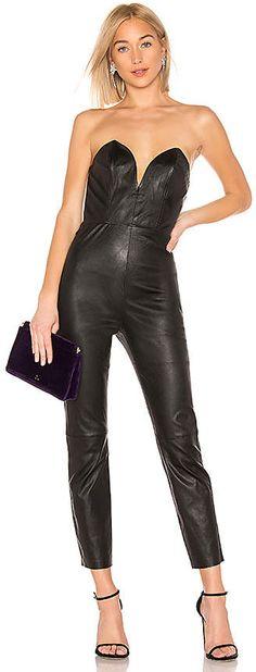 e213cbb74a0 22 Best Leather jumpsuit images