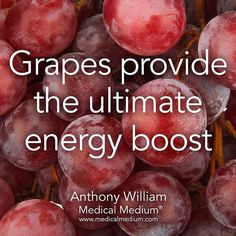 4,675 vind-ik-leuks, 16 reacties - Medical Medium® (@medicalmedium) op Instagram: 'Grapes provide the ultimate energy boost Learn more about the healing powers of grapes in Life-…'