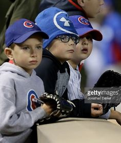 Cubs' fans at Wrigley//Oct 7, 2016 Game 1 NLDS v SF