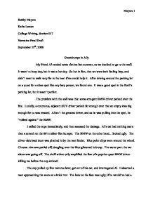sample mba admission essay