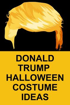 Best Funny Political Costumes 2020 - Donald Trump Costumes and Wigs Donald Trump Halloween Costume, Donald Trump Costume, Hot Halloween Costumes, Cute Halloween, Halloween Gifts, Adult Costumes, Halloween Stuff, Family Costumes, Children Costumes