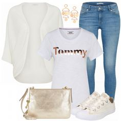 Freizeit Outfits: Tommy bei FrauenOutfits.de