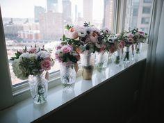 Liberty House Jersey City Wedding   Florals by Fleur de Ferme