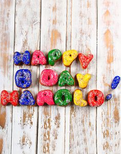 Personalised Doughnuts 1 To 9 Letters online Personalised Gifts, Doughnuts, Bakery, How To Make, Crafts, Stuff To Buy, Customized Gifts, Personalized Gifts, Bakery Shops