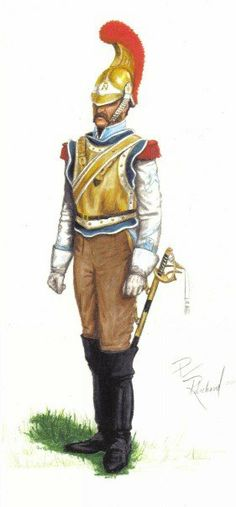 French 2nd Carabinier.