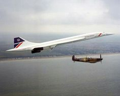Concorde and the Spitfire